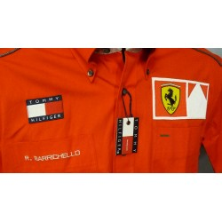 Rubens Barrichello personnal Ferrari Team shirt