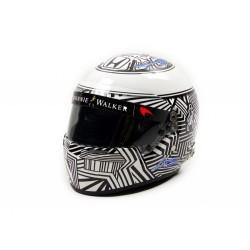 1/2 scale helmet Fernando Alonso McLaren Honda Test Barcelona 2017