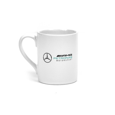 Tasse blanche Logo Mercedes AMG F1