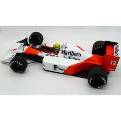 McLaren MP4/4 Ayrton Senna 1988 scale 1/12