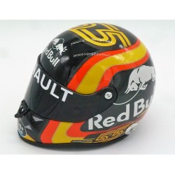 2018 Carlos Sainz half scale mini helmet