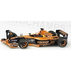 Orange Arrows A22 E.Bernoldi Monaco GP Practice 2001