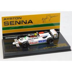 Ralt Toyota RT3 A.Senna 1st F3 Test 1982