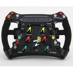 BRAWN GP BGP001 steering-wheel scale 1/4