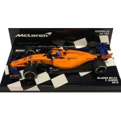 McLaren MCL33 Fernando Alonso 2018