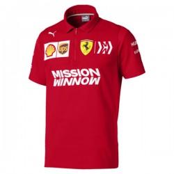 Polo Team Ferrari avec zip