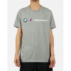 T-Shirt BMW MMS Logo, gris chiné