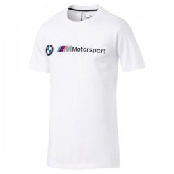 T-Shirt BMW MMS Logo, blanc