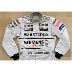 Combinaison David Coulthard / McLaren 2003