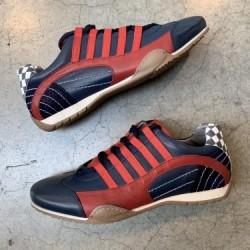 GPO Racing Sneaker red-navy