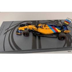 McLaren MCL33 Fernando Alonso Final GP 2018