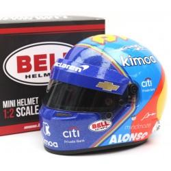 Mini casque 1/2 Fernando Alonso / Indy 2019