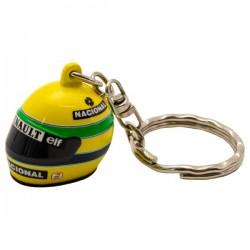 Ayrton Senna 3D key ring helmet 1998