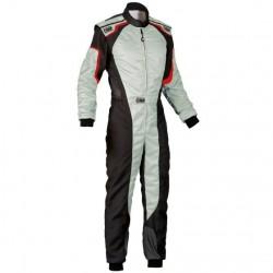 KS-3 Karting suit, grey/black