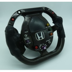 2001 BAR HONDA J. Villeneuve steering-wheel