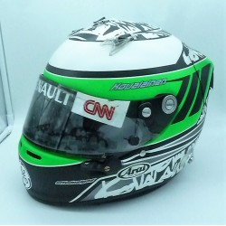 Heikki Kovalainen / Lotus 2010 race worn helmet