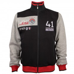 Veste Sweat avec zip Ayrton Senna 41 Victories
