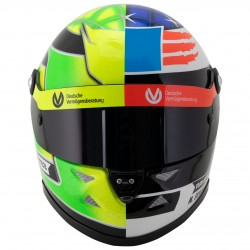 Mick Schumacher 2017 Spa 1/2 scale mini helmet