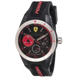 Ferrari watch REDREV T black/red