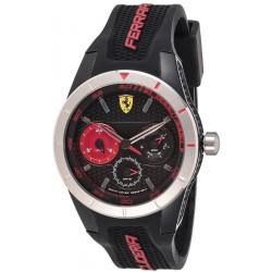 Montre Ferrari  REDREV T noire/rouge