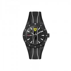 Ferrari watch REDREV QUARTZ black/white