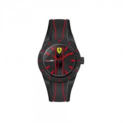 Ferrari watch REDREV QUARTZ black/red
