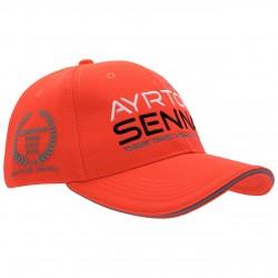 Casquette Ayrton Senna McLaren rouge