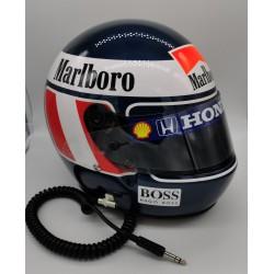 1991 Gerhard Berger / McLaren replica helmet