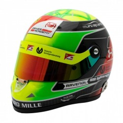 2019 Mick Schumacher 1/2 scale mini helmet