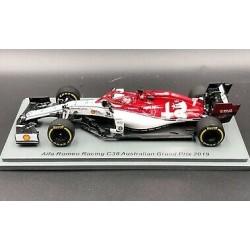 Alfa Romeo Ferrari C38 Kimi Räikkönen Australian GP 2019