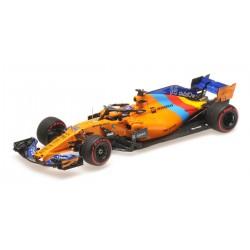McLaren MCL33 F. Alonso dernier GP