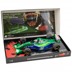 Jordan Ford 191 Michael SCHUMACHER 1er GP F1 à Spa 1991