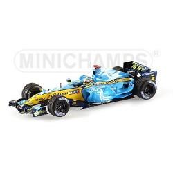 Renault R26 F. Alonso winner British GP 2006