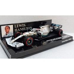 Mercedes F1 W10 Lewis Hamilton GP d'Allemagne 2019