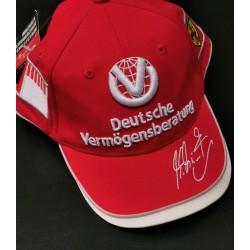 Casquette personnelle de Michael Schumacher 2004