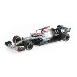 Mercedes F1 W10 Lewis Hamilton, vainqueur du GP d'Angleterre 2019