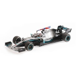 Mercedes F1 W10 Lewis Hamilton winner British GP 2019