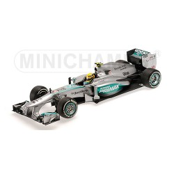 Mercedes F1 W04 L.Hamilton 1er Podium 2013