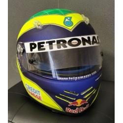 2002 Felipe MASSA / Sauber Schuberth helmet