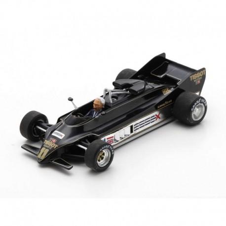 Lotus 88 Presentation Car avec Colin Chapman