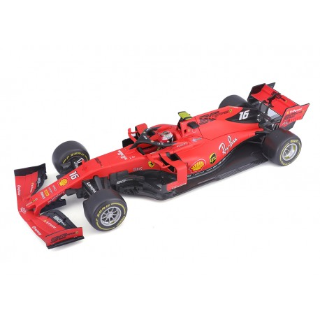 Ferrari SF90 C.Leclerc, vainqueur du GP de Monza 2019