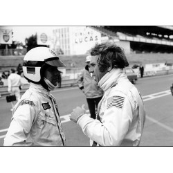 Photo Steve McQueen / Film Le Mans 1968 (Nr. 5)