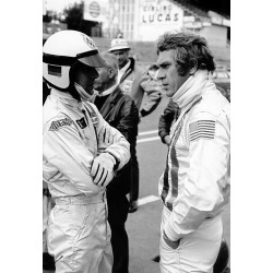Photo Steve McQueen / Le Mans film 1968 (Nr. 19)