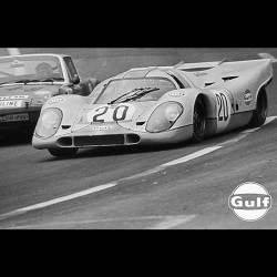 Photo Steve McQueen / 1968 Le Mans Movie (Nr.28)