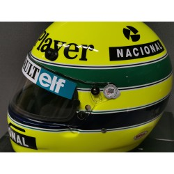 1985 Ayrton SENNA / JPS LOTUS replica helmet
