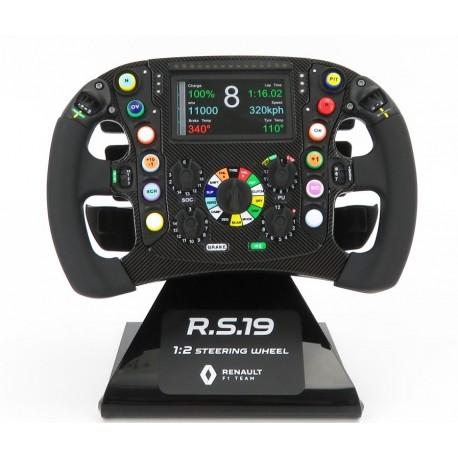 Renault RS19 half scale steering-wheel