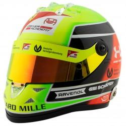 Mini casque échelle 1/2 Mick Schumacher 2020