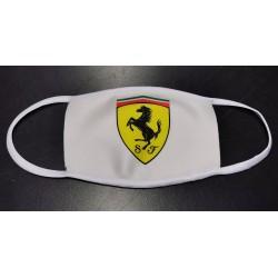 Masque 2 couches avec logo Ferrari