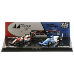 Mick & Michael SCHUMACHER double car Set