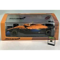 McLaren MCL35 Lando Norris 3ème lors du GP d'Autriche 2020
